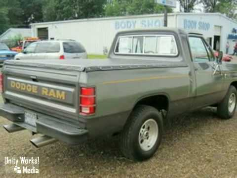 1985 Dodge Ram 1500 Truck 16855y In Salem Alliance Oh Sold Youtube