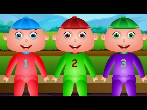 Five Little Babies Sitting on a Wall And More - Jamjammies Nursery Rhymes & Kids Song