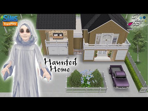 Sims FreePlay 👻 | HAUNTED HOME | 👻 Tour & AR Story 🎥 | By Joy.