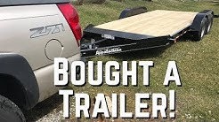 I Finally Bought a Car Trailer for my Jeep!!