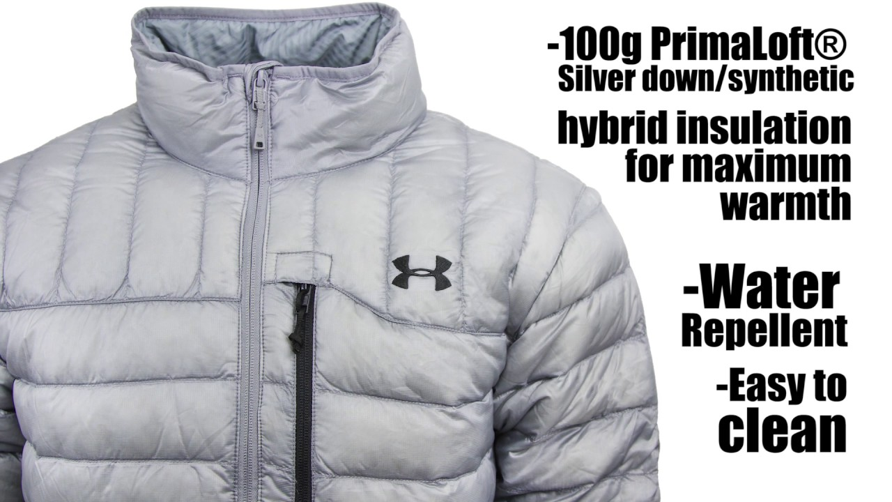 75998c015 Under Armour Men's Storm ColdGear Infrared Turing Jacket - YouTube