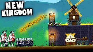 Defending our NEW KINGDOM From Zombie Invasions! (Grim Nights Gameplay)