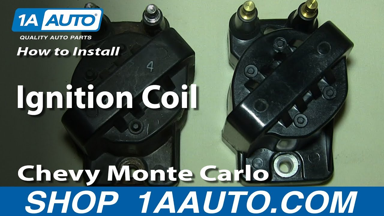 How To Install Replace Ignition Coil 34L Chevy Monte