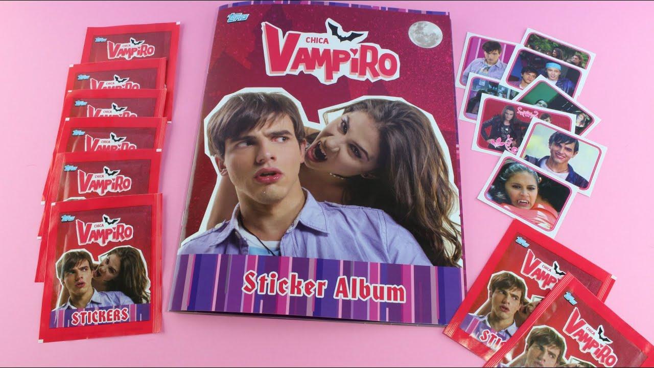 discount sale big sale quality design Chica Vampiro - Sticker Album