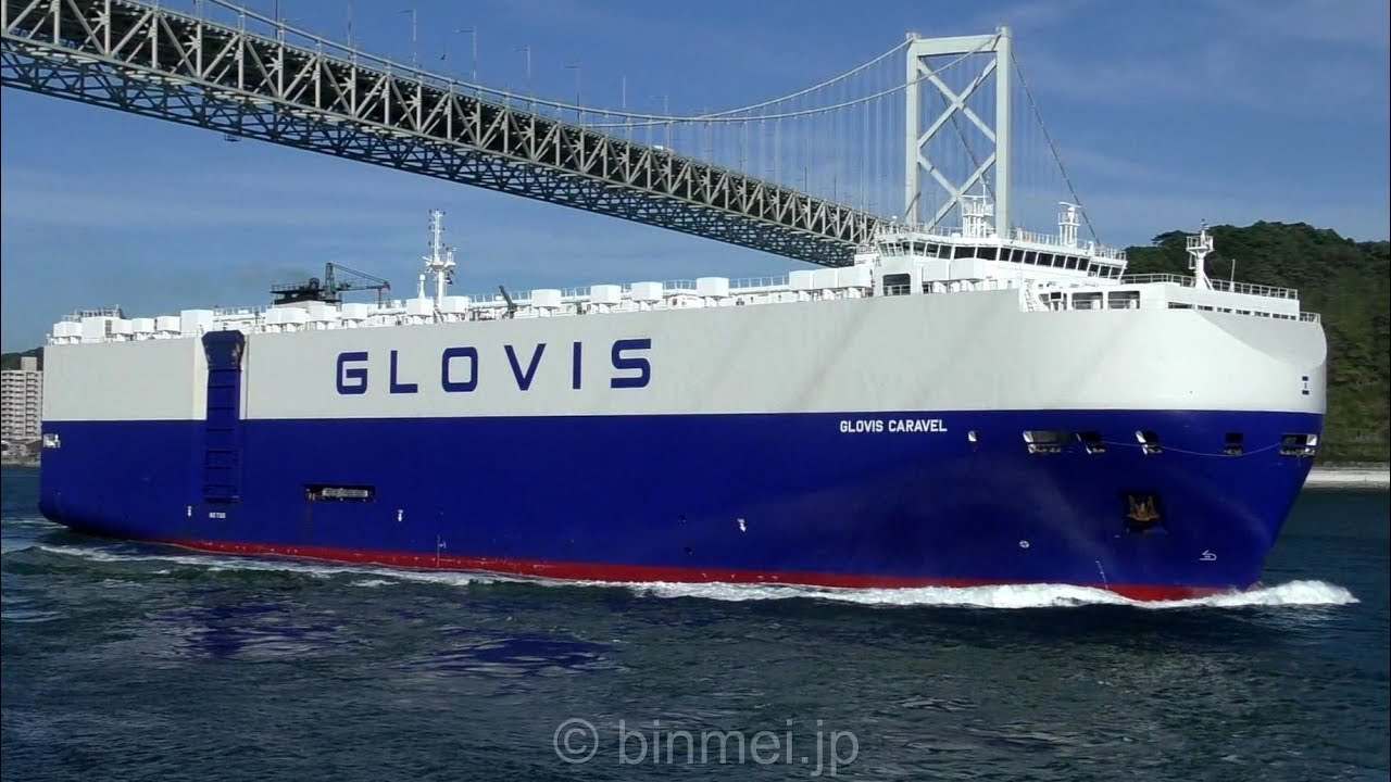 GLOVIS CARAVEL - RAY CAR CARRIERS vehicles carrier