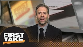 Max Kellerman challenges Tyronn Lue: JR Smith was 'gooning it up' in Game 2 | First Take | ESPN
