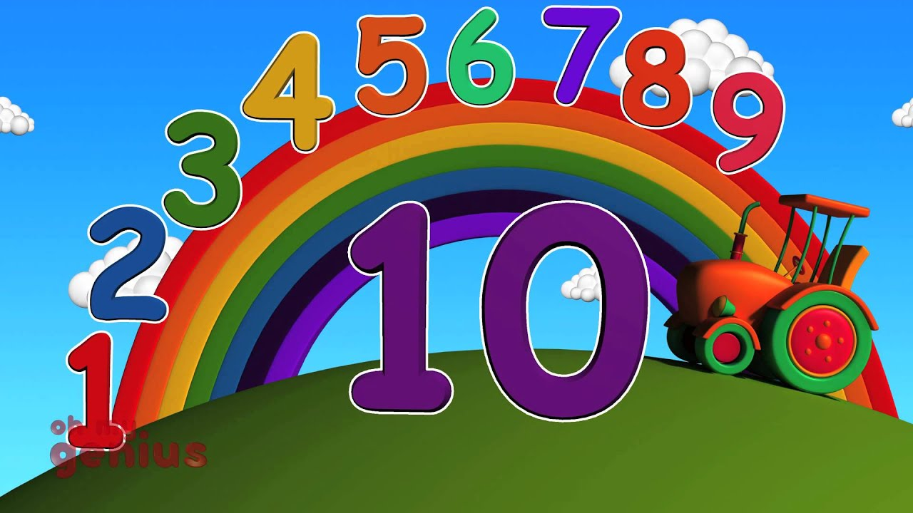 ten little numbers numbers song learn numbers from 1 to 10 youtube