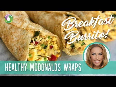 Egg Breakfast Burrito Protein Treats By Nutracelle