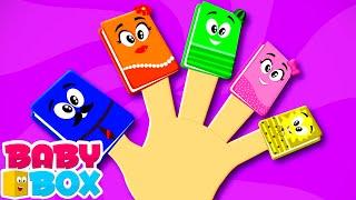 Buku keluarga jari   Bayi sajak   Video edukasi anak   Baby Box Indonesia   Lagu anak anak