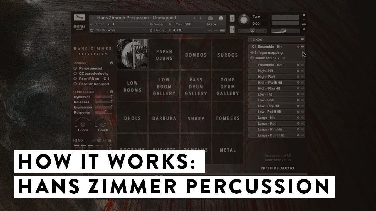 Hans Zimmer Percussion