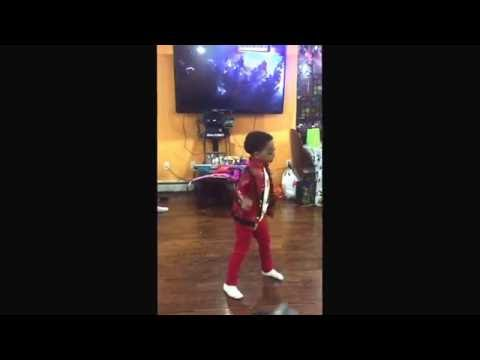 DJ Thriller Dance is the Best Michael Jackson impersonator & he is only 6 years Old Toddler Kid MJ