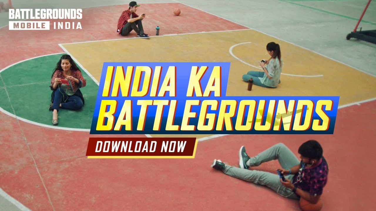 OFFICIAL LAUNCH of BATTLEGROUNDS MOBILE INDIA | Download Now