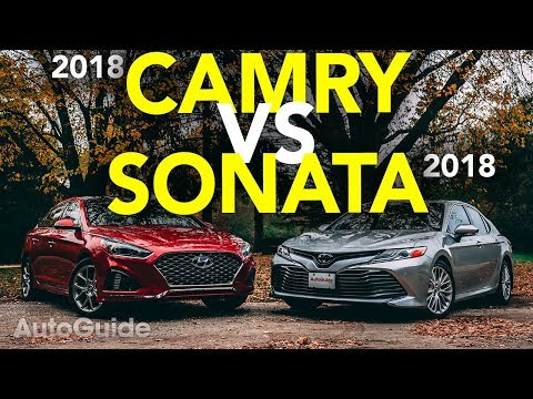 2018 Hyundai Sonata vs Toyota Camry Comparison Test