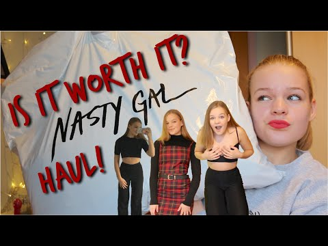 HUGE NASTY GAL TRY ON HAUL!! Worth It?~lush leah