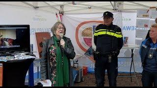 Burgemeester Salet geeft startsein 'Donkere Dagen Offensief' - Maaswijk / Spijkenisse 2017