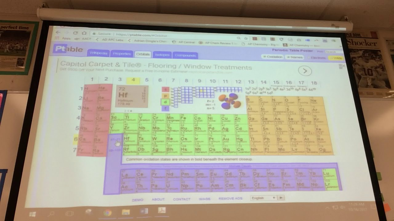 Chapter 04 Periodic Table Lesson 3 Main Group Elements And