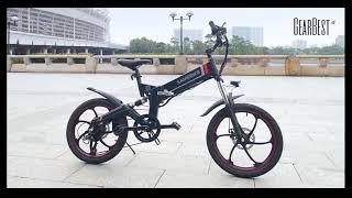 Samebike 20ZANCHE Smart Folding Electric Bike - GearBest