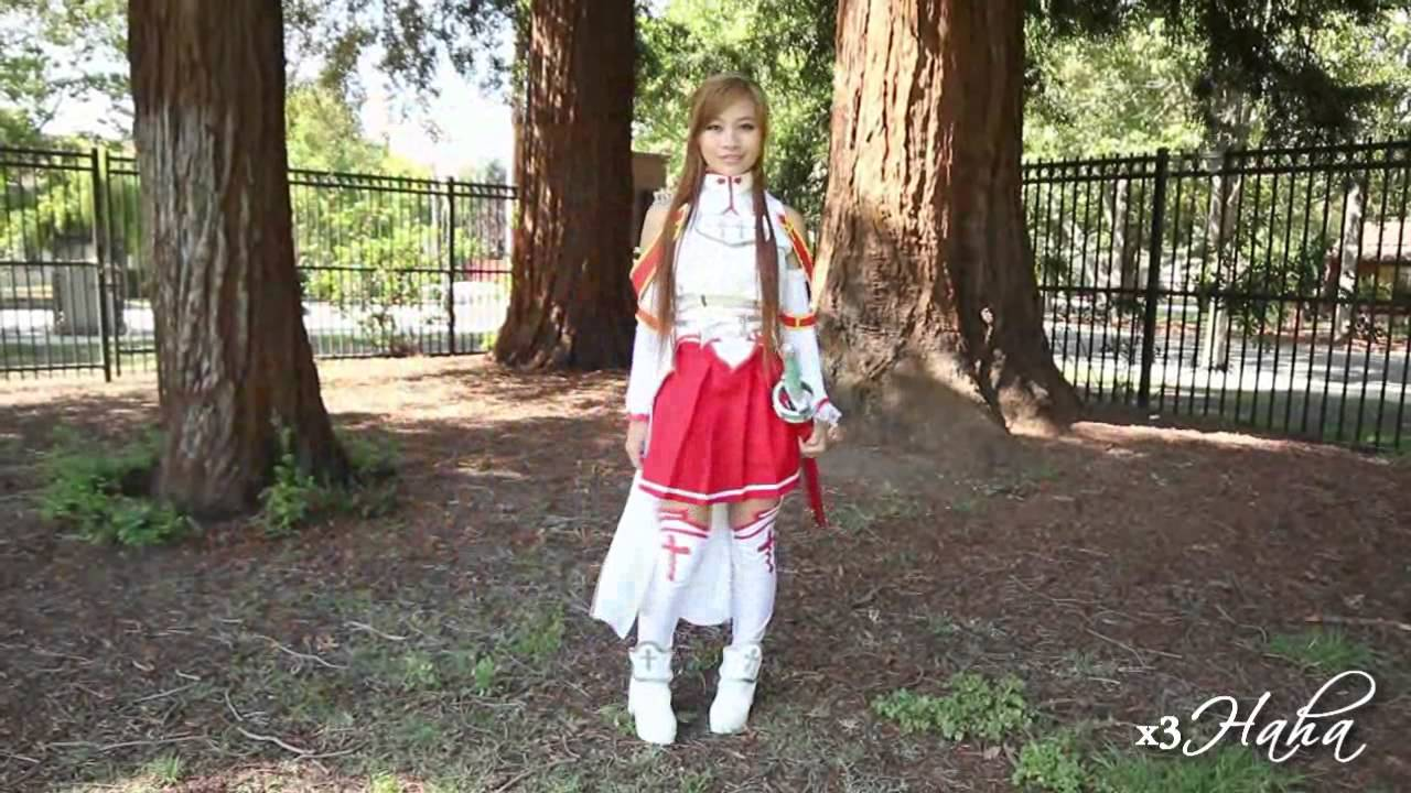 Asuna S Hair Tutorial Amp Sword Art Online Anime Cosplay L