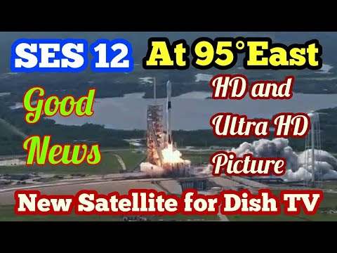 Breaking News. आगये New Satellite SES 12 for Indian home DTH TV service. Ultra HD पिक्चर।