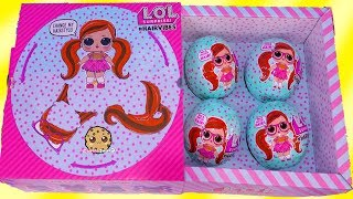 #HairVibes  NEW LOL Surprise Hair Style Mix + Match Giant Surprise Blind Bag Balls