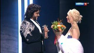 Polina на награждении Российской национальной музыкальной премии Виктория 2018
