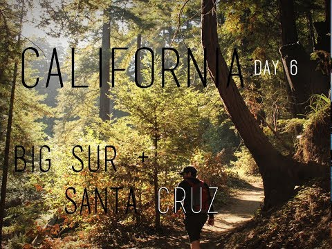 California Road Trip: Day 6 - Big Sur & Santa Cruz