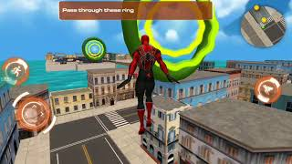 Flying hero super city rescue mission Android Gameplay