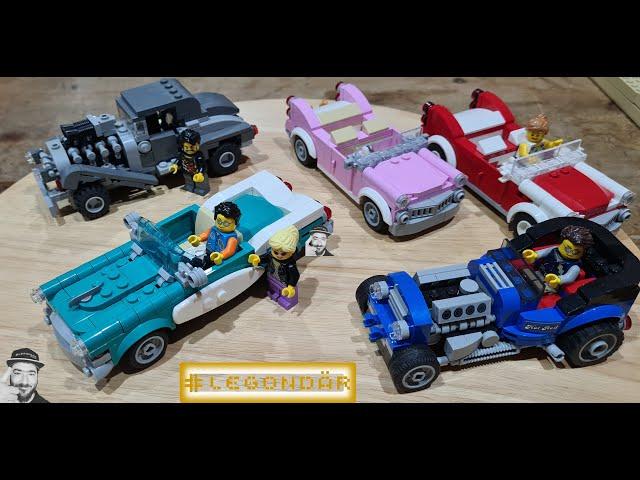 LEGO #40448 Vintage car - #GWP - #IDEAS - #Speedbuild