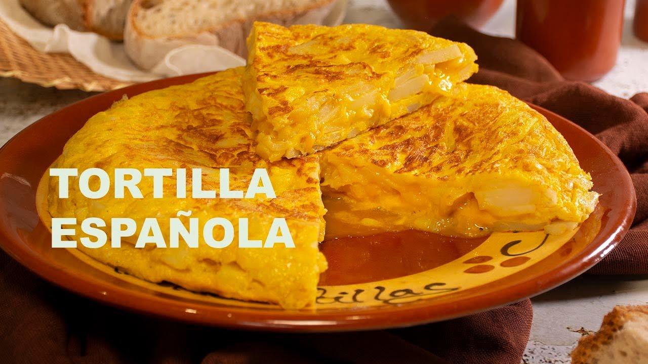 Patata Porner tortilla de patatas. trucos y consejos para una rica tortilla casera. video