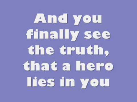 Mariah Carey - Hero lyrics