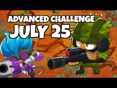 BTD6 Advanced Challenge - Don&39;t Underestimate The Snipers - July 25 2019