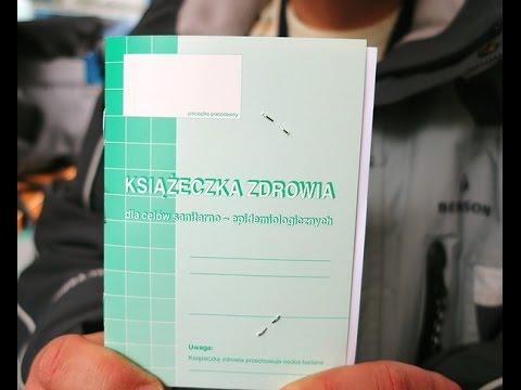 №17 Санитарная книжка.Książeczka sanepidowska – jak ją zdobyć?