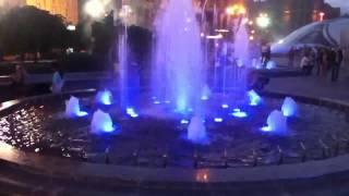 Музыкальный фонтан в Киеве