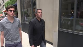Michael Cohen Seen Entering His NYC Hotel