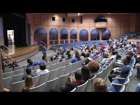 Parents meet at First Coast High School