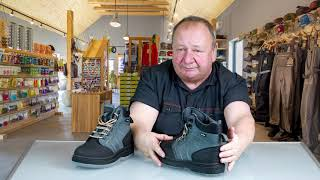 Vision Atom Wading Boots video