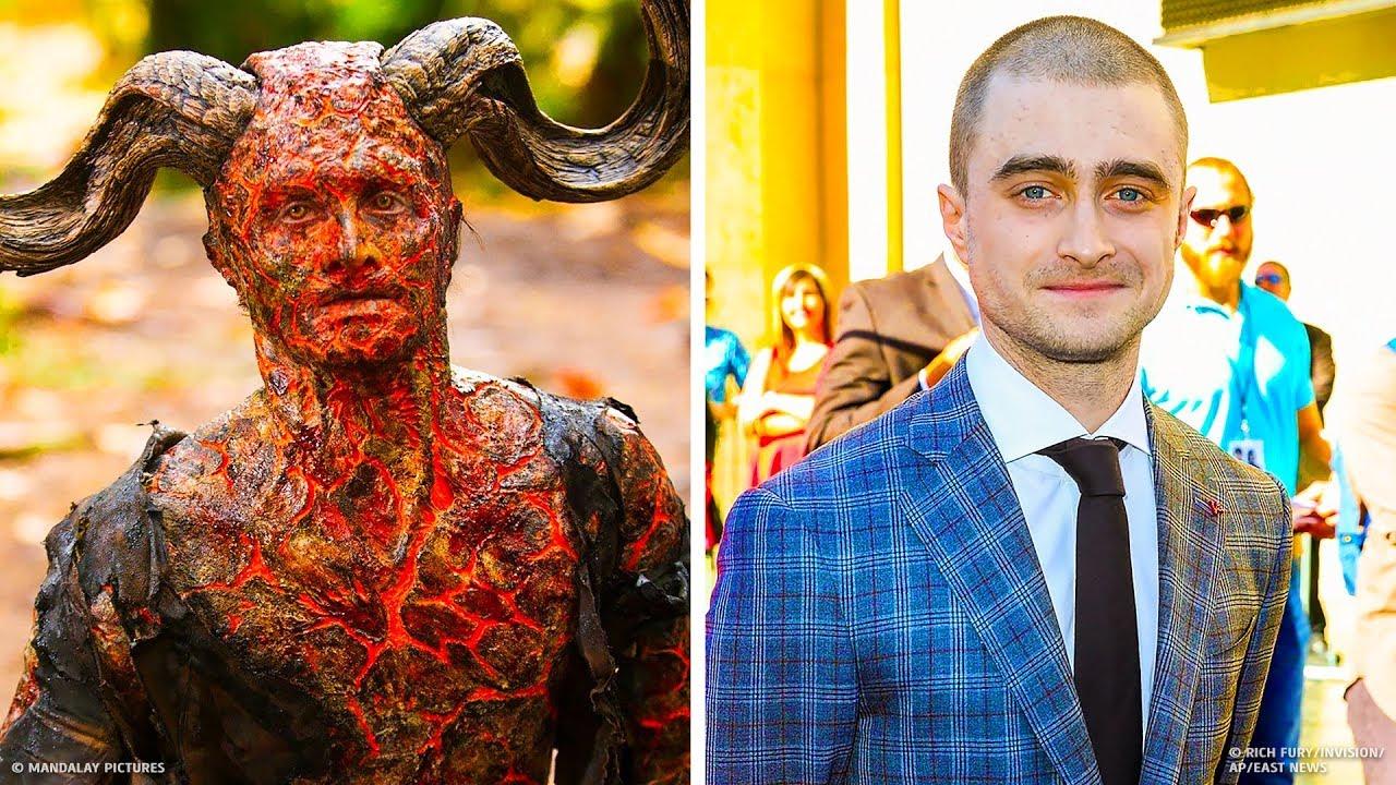 13 Actores famosos antes y después de maquillarse para una película