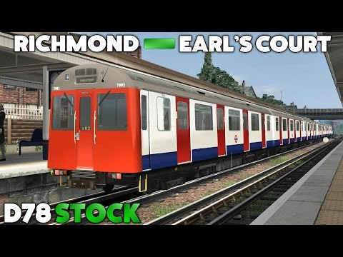 Train Simulator 2017 - D78 Stock: Richmond to Earl's Court (District Line)