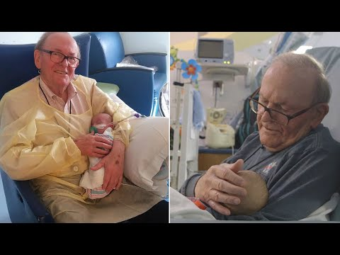 'ICU Grandpa' Cuddles Premature Babies Whose Parents Can't Be With Them