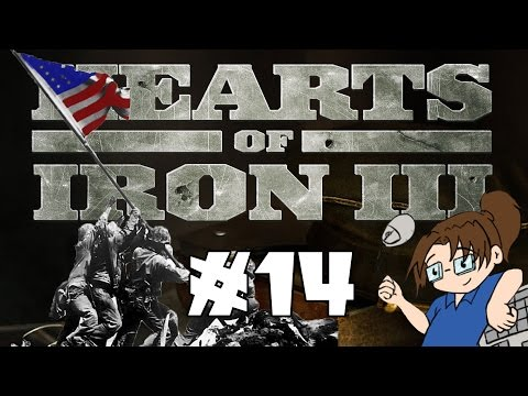 Hearts of Iron 3 - United States of America - Ep 14 [Island Hopping]