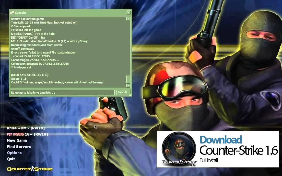 counter strike 1.6 best version download