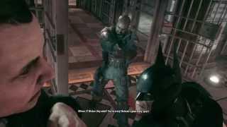 Batman Arkham Knight - Interrogating Officer JT Wicker