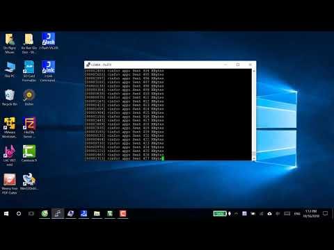 BLE 5 0 throughput test on nRF52840
