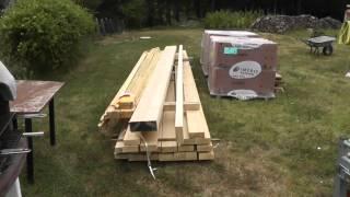 Tutoriel Construction Porche (charpente, Toiture)