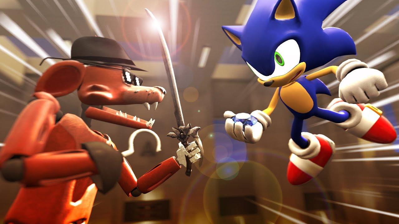 Sonic VS Foxy (SFM)