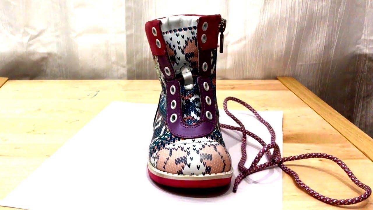 Как красиво и оригинально зашнуровать ботинки для ребенка ...