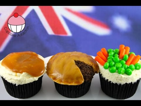 Make Meat Pie Cupcakes! Cupcake Dinner In Disguise!  -- A Cupcake Addiction How To Tutorial