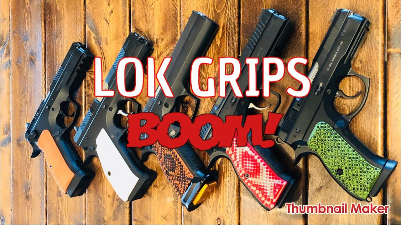 LOK GRIPS : Best CZ Grips! #CZLIFE