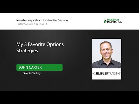 My 3 Favorite Options Strategies | John Carter