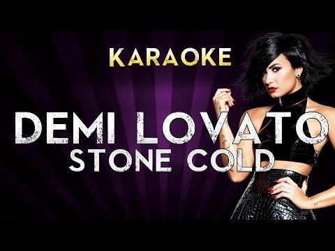 Demi Lovato - Stone Cold | Higher Key Karaoke Instrumental Lyrics Cover Sing Along